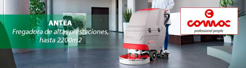 ANTEA. Fregadora de pavimentos para limpieza y mantenimiento de espacios hasta 2200m2.