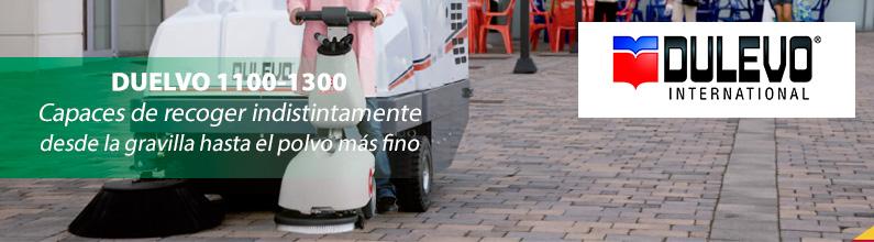 Dulevo 1100 y 1300: Si el polvo es su problema, las barredoras con conductor sentado son más que una solución.