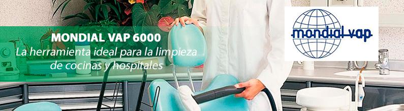POLTI Mondial Vap 6000: es la herramienta ideal para una función completa y eficaz de limpieza profesional.