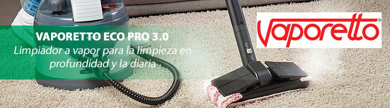 VAPORETTO ECO PRO 3.0: Limpiador a vapor para la limpieza en profundidad y la diaria